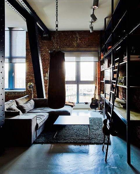 40 best Stalen deuren - Kozijnen -Interieur - Projecten - Special - interieur aus beton und aluminium urban wohnung