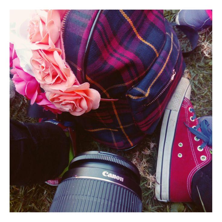 Flores  zapatillas