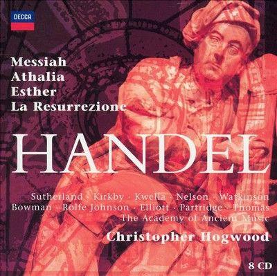 Handel & Aam & Hogwood - Oratorios (CD)
