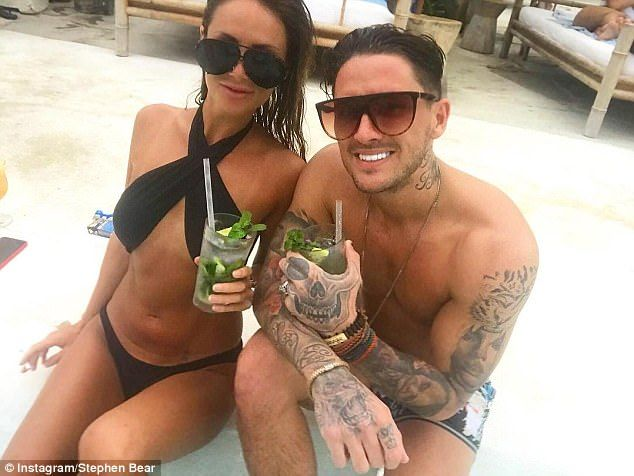 Stephen Bear hints he has split from girlfriend Jessica   Daily Mail Online