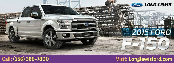 Are you looking to buy the best pickup truck? The all new ford f-150 trucks stronger, smarter and more fuel effective. Check out more! Only at Longlewis. Call: (256) 386-7800