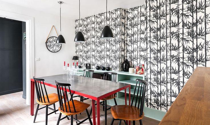 Colori e sobrietà di un appartamento parigino | Unique projects, lots of ideas
