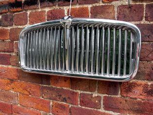 Jaguar car grill mirror. $350