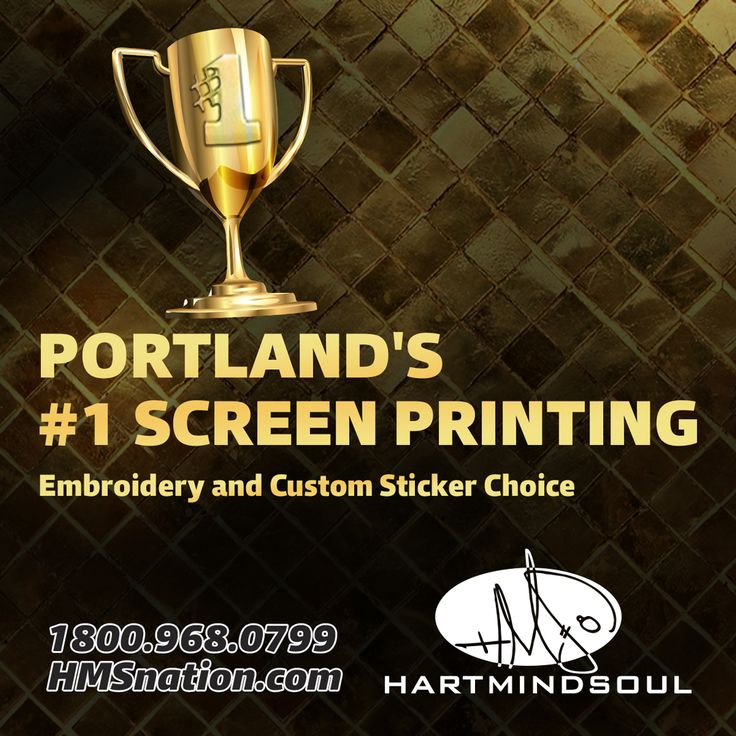 Where can i find professional quality full color cmyk process screen printing on stickers t shirts in the portland metro ask hart heart mind soul hms