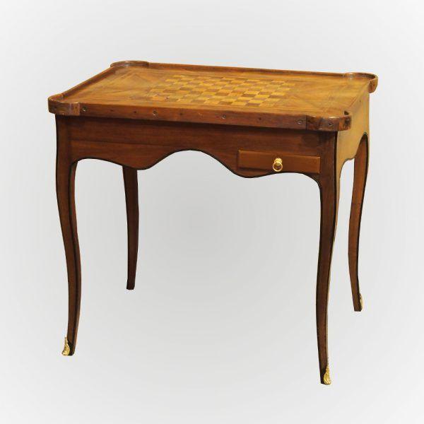 Table de jeux Louis XV