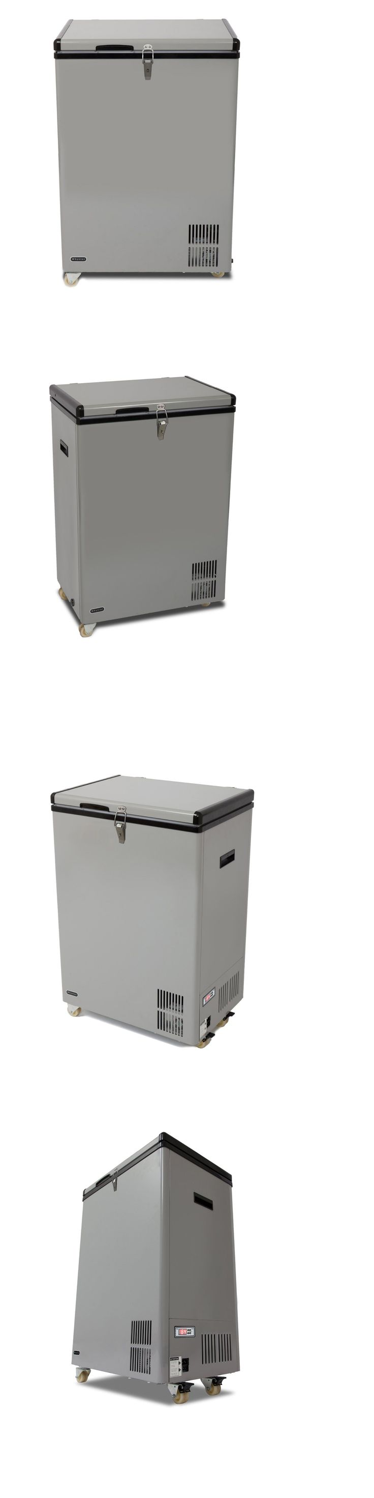Upright and Chest Freezers 71260: Whynter Fm-951Gw 95 Qt Portable Wheeled Fridge And Freezer , Gray -> BUY IT NOW ONLY: $499.99 on eBay!