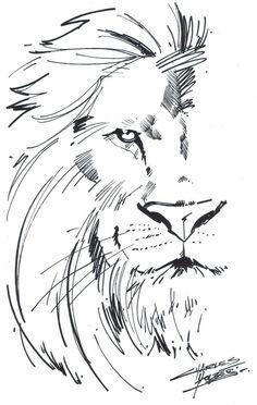 Halbes Gesicht Löwe und halbes Mädchen mit Locken! [M.I.A Aslan by KidNotorious on deviantART]