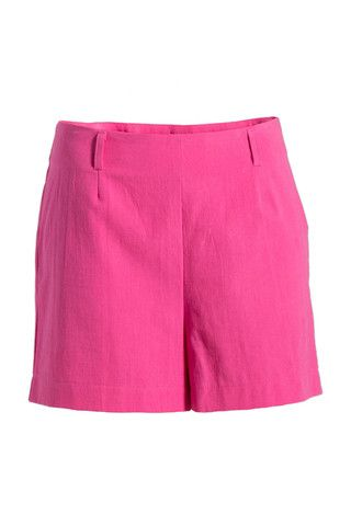High Waisted Shorts - Solid Colour