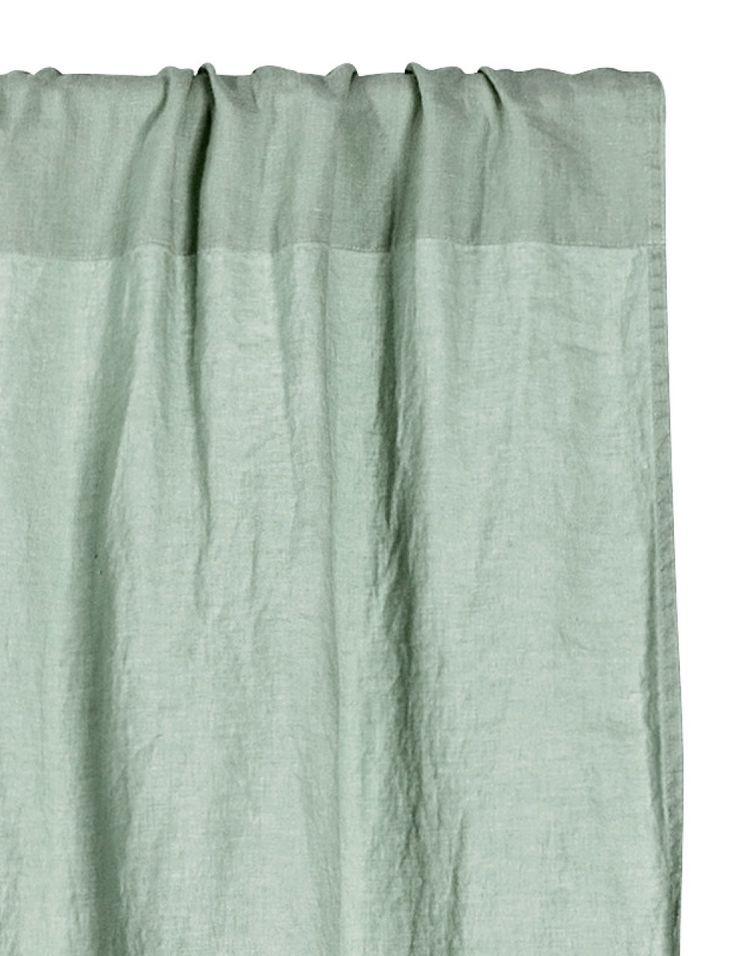 Kolla in det här! PREMIUM QUALITY. En gardinlängd i tvättat linne med tungt fall. Upphängningsfunktion med bred kanal. Fållband medföljer för enkel uppläggning. Innehåller en gardinlängd. - Besök hm.com för ännu fler favoriter.