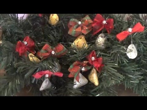 """""""This video presents how to make paper clay ornaments using silicone molds. The ornaments are panted with tempera and decorated with nail art rhinestones. Αυτό το βίντεο παρουσιάζει πως φτιάχνω στολίδια από πηλό (paper clay) χρησιμοποιώντας καλούπια σιλικόνης. Τα στολίδια είναι βαμμένα με τέμπερα και διακοσμημένα με στρασάκια νυχιών."""""""
