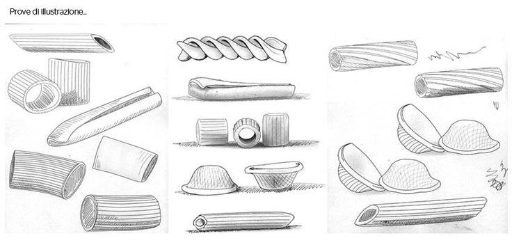 nuovo #packaging per la linea di pasta @Castiglioni, progetto curato e realizzato dallo #studio grafico @Lagartixa Design, in particolare l'#Agenzia ha progettato e realizzato l'#illustrazione dei formati di pasta