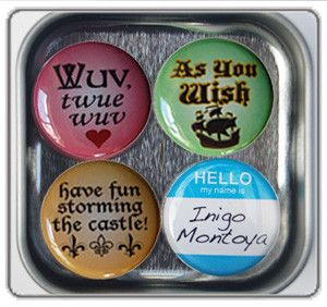Princess Bride | 80s Movies | Magnets | Princess Bride Quotes ...