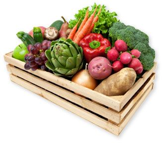 Serendipity Farms CSA Vegetable Box