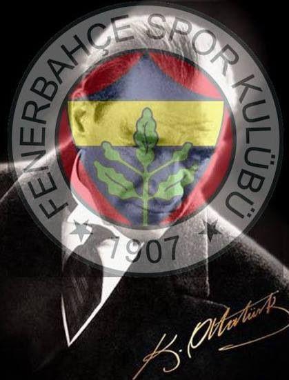 dit is ataturk en fenerbahce ataturk was de belangerijkste man van heel turkije en fenerbahce is mijn lievelings team