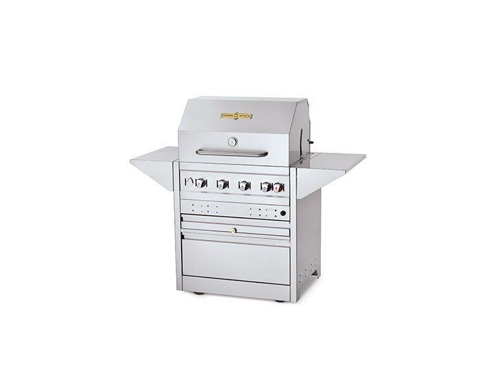"""The NEW Estate Series 30"""" Estate Mobile Grill  Also available in 24"""" and 36"""" grill packages."""