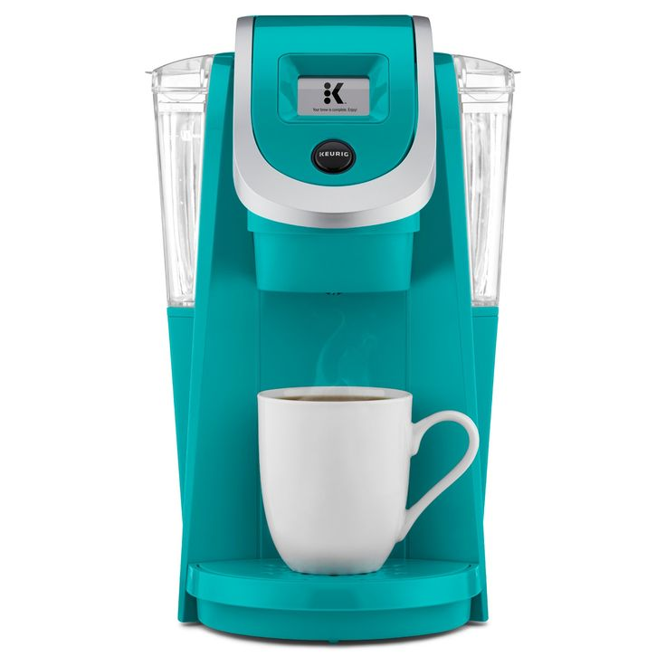 The K200 Coffee Maker allows you to brew a 4-cup carafe with the same ease and convenience of brewing a single-serve cup — all at the touch of a button. It's so smart, and so simple! And nothing like a typical coffee machine. The Keurig® K200 brewer also features revolutionary Keurig 2.0 Brewing Technology,™ designed to read the lid of each K-Cup® or K-Carafe® pod to brew the perfect beverage every time. There's even a separate...
