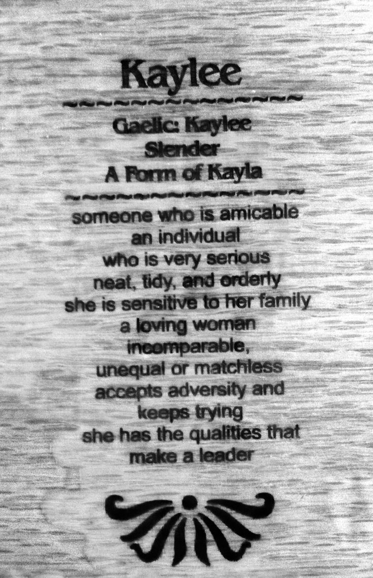 Name sydney meaning faithful - Kaylee Meaning Amazing How The Name Really Does Fit