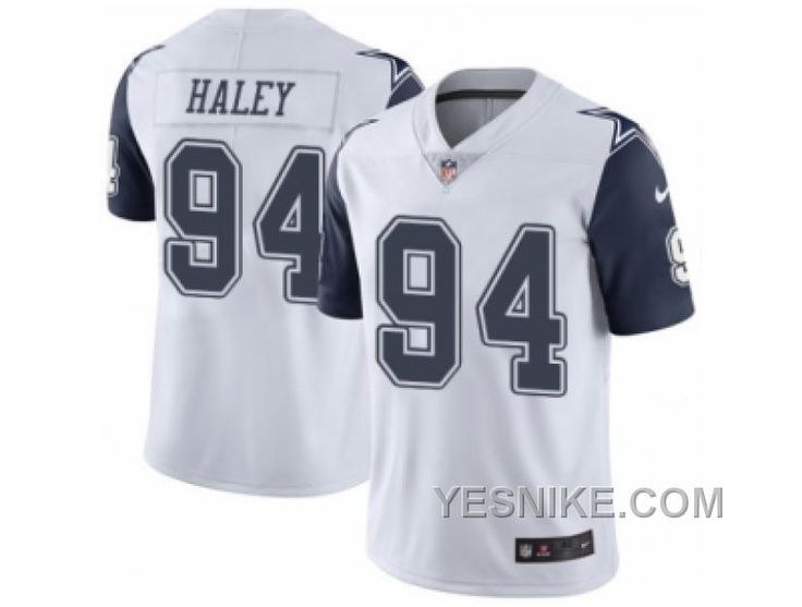 http://www.yesnike.com/big-discount-66-off-mens-nike-dallas-cowboys-94-charles-haley-elite-white-rush-nfl-jersey.html BIG DISCOUNT ! 66% OFF ! MEN'S NIKE DALLAS COWBOYS #94 CHARLES HALEY ELITE WHITE RUSH NFL JERSEY Only $26.00 , Free Shipping!