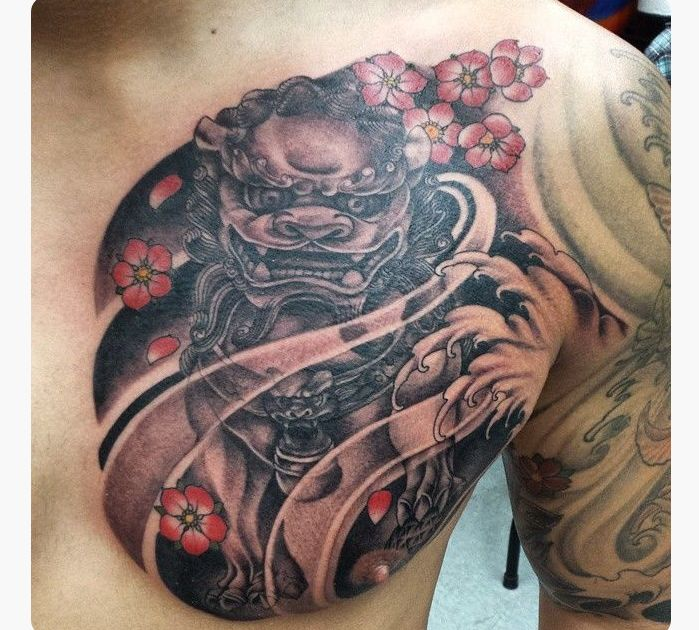 Chinese Chest Tattoo: 40 Best Chinese Tattoos On Chest Images On Pinterest