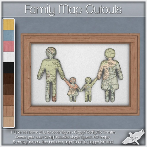 Alouette - Family Map Cutouts (AD) | Flickr - Photo Sharing!