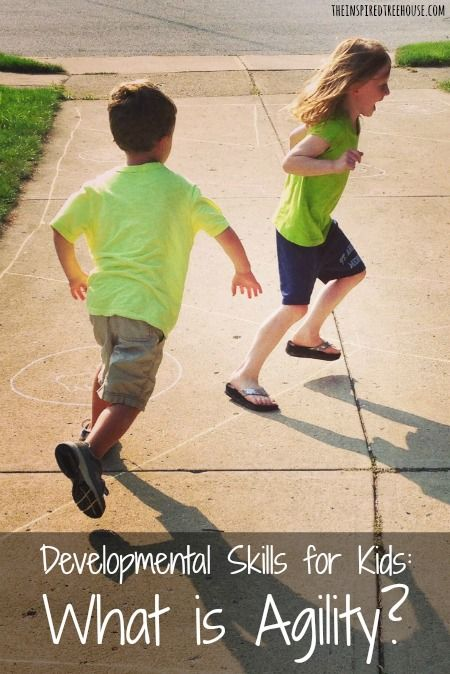 The ABCs of Development A is for Agility. What is it, why is it important and what can you do to help your child develop their agility?