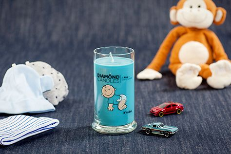 It's a Boy Ring Candle