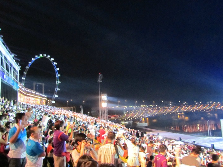 Be Proud #Singapore - WIT attends the inaugural Youth #Olympic Games Games Opening ceremony #webintravel