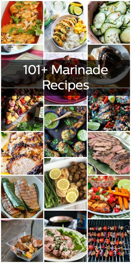 Marinating is easy, and adds a fantastic layer of flavor to your dish. You can marinate almost any kind of meat or vegetable, and more. Here are 101+ marinade recipes to keep you busy!