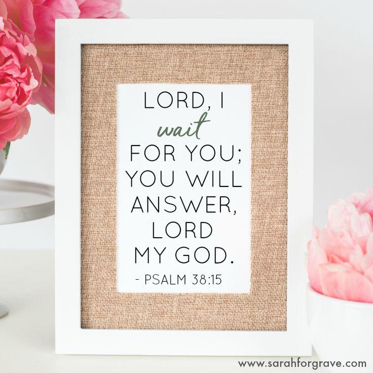 Psalm 38:15 | www.sarahforgrave.com
