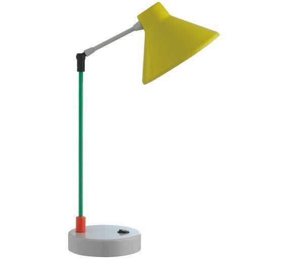 Buy Habitat Bobby Desk Lamp - Multicoloured at Argos.co.uk, visit Argos.co.uk to shop online for Table lamps, Lighting, Home and garden