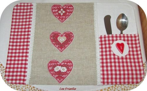 Set de table ma petite couture home made sewing for Sets de table tissu