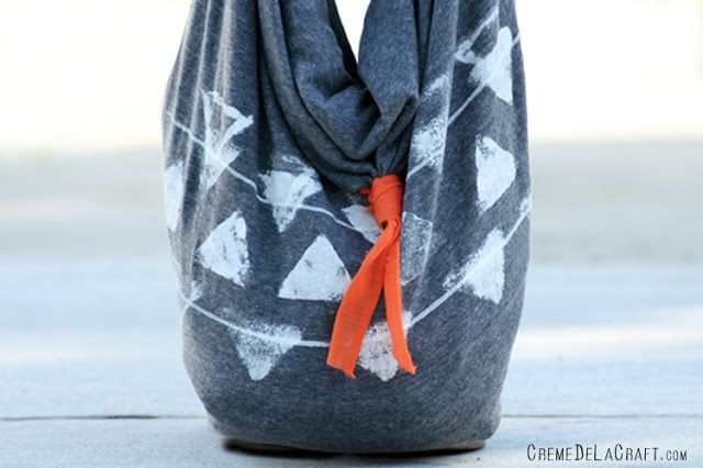 Как сделать сумку без шитья (Diy)