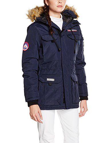geographical norway mujer abrigo