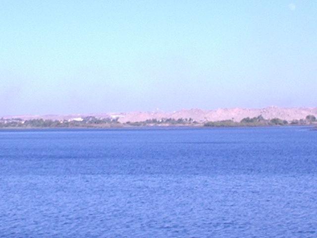 Aswan Dam - Lake
