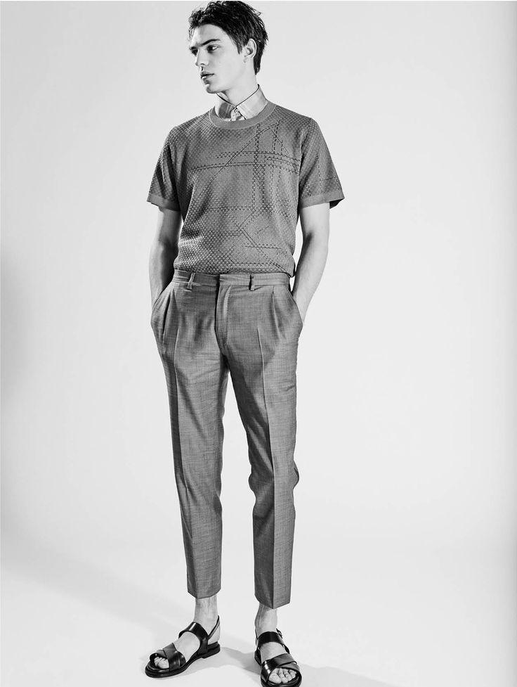 THE GREATEST #9 THE YOUTH ISSUE -  PHOTO ALESSANDRO DAL BUONI - FASHION EDITOR MATTEO GRECO - MODEL GUERRINO SANTULLIANA -I Love Models Management-  TOTAL LOOK Brioni
