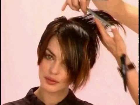 Урок женской короткой стрижки В МИРЕ МАСТЕРОВ http://vmiremasterov.ru - YouTube