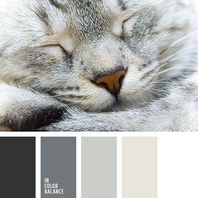 Los tonos cálidos de colores gris y beige son muy adecuados para decorar un dormitorio.  Utilizando tales colores, crearás una atmósfera armoniosa y acogedora en tu casa.