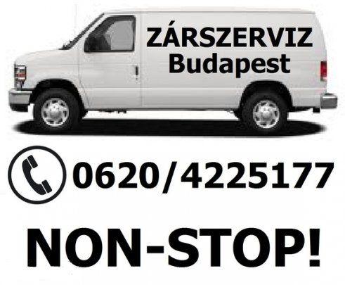 Non-stop zárlakatos, zárszerviz, Budapest, VI. [Pepita Hirdető]