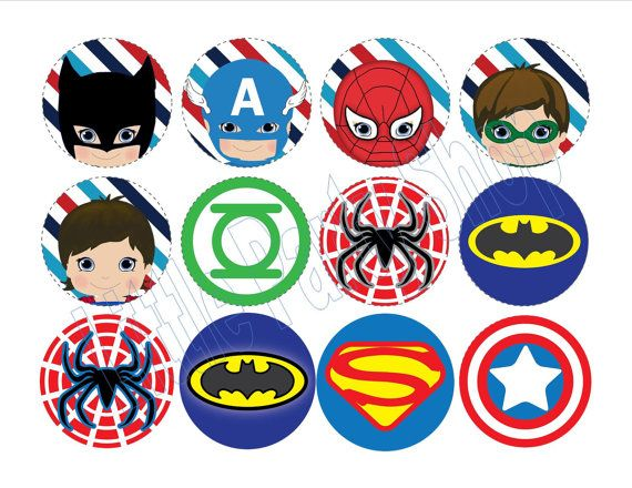 Superhero Theme Printables