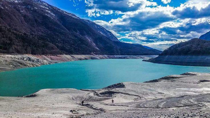 Io.Sempre#Op17 Lago di Molveno Paesaggio lunare