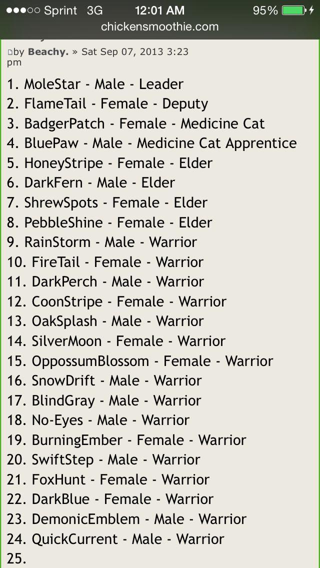 irish word for cat