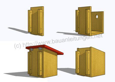 25 best ideas about nistkasten bauanleitung on pinterest. Black Bedroom Furniture Sets. Home Design Ideas