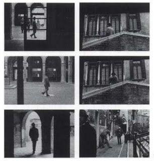 Sophie Calle 'Suite Venitienne' project following a man