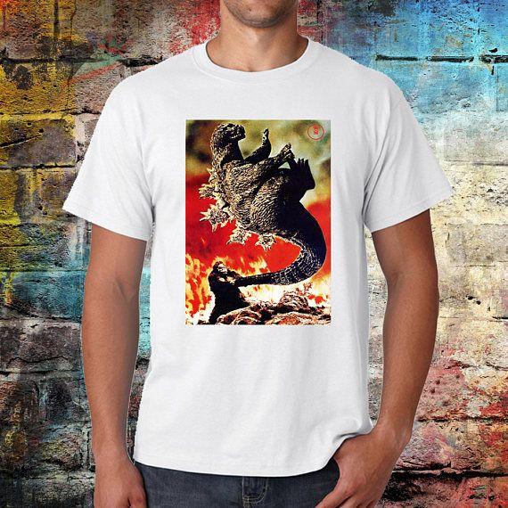 King kong vs Godzilla T-shirt retro look vintage feel Japan