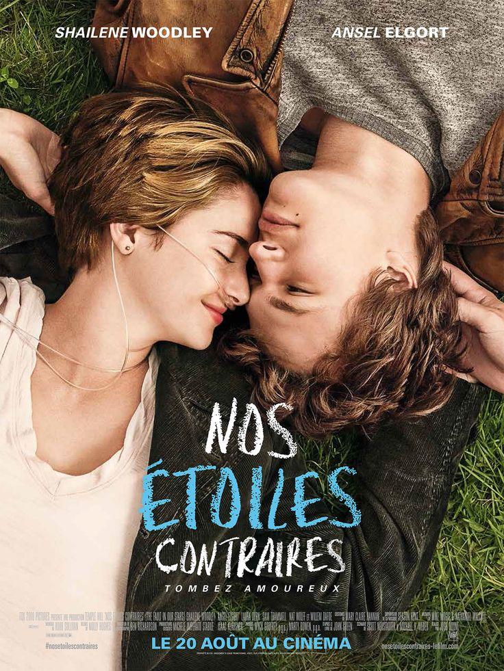 """""""Nos étoiles contraires"""".... Je ne suis absolument pas du style à aller voir un film le jour de sa sortie... tout simplement parce que je ne suis pas du style à aller au cinéma souvent... Mais là, j'avais deux bonnes raisons ! 1) j'ai adoré le livre et 2) j'avais 2 ados sous la main, deux alibis pour y aller !!!"""