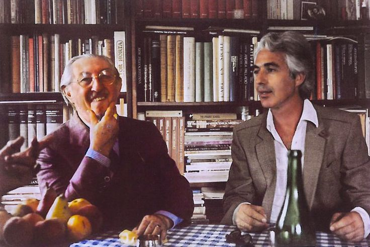 Carlo Scarpa and Cleto Munari 1975