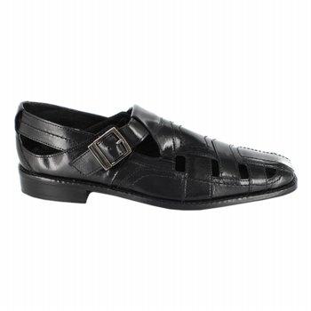 Stacy Adams Cimarron Sandals (Black) - Men's Sandals - 10.5 M