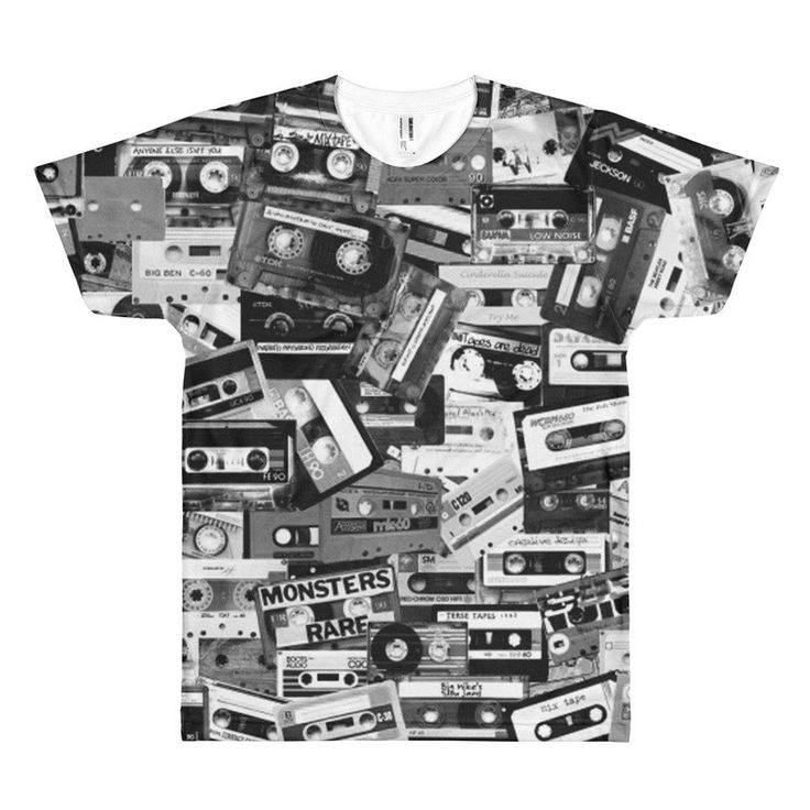 90s Hip Hop Clothing Cassette Tape Mens Punk Shirt 90s Shirt 90s Clothing 80s Clothing Dance Costumes Vaporwave Aesthetic Rave Wear Harajuku