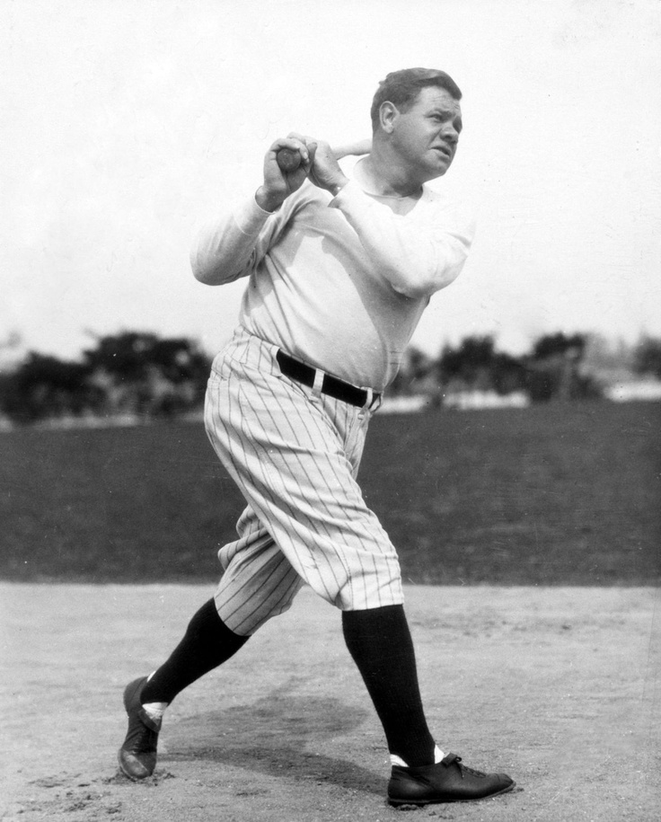 Babe ruth in color-6253