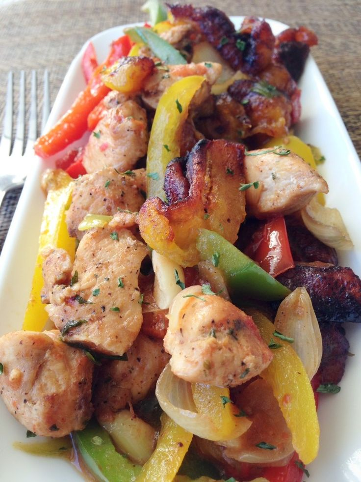 Poulet DG - Chicken Director General   Cameroon Food